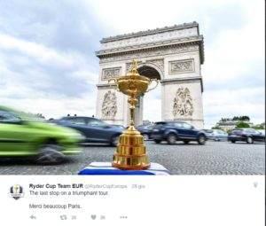 RYDER CUP: ECCO IL TEAM EUROPEO (dalla redazione FIG)
