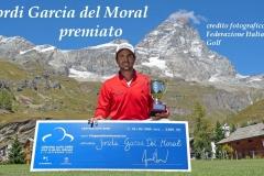 Jordi Garcia Del Moral premiato (Foto Bellicini)