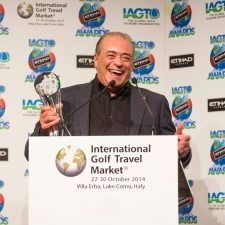 IGTM - Costantino Rocca with IAGTO Honorary Award 2015